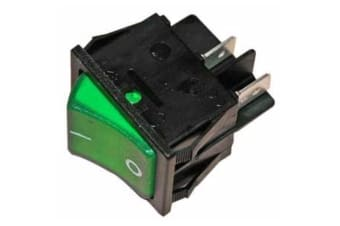 Dometic On/Off Fridge Switch (Green) (One Size)