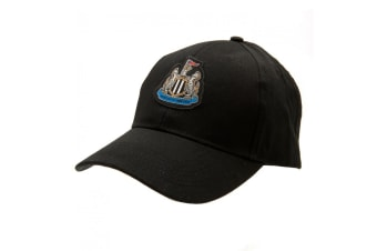 Newcastle United FC Cap (Black) (One Size)