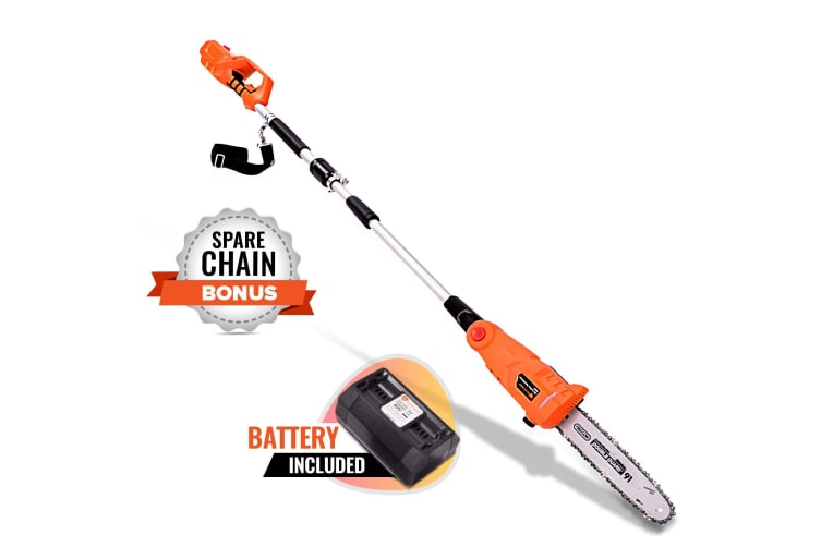 NEW Black Eagle 40V Pole Chainsaw Cordless Electric Lithium Tool Saw Pruner