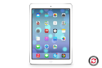 Apple iPad Air Refurbished (16GB, Cellular, Silver) - A Grade