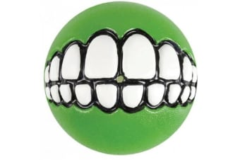 Rogz Grinz Ball Lime - Medium