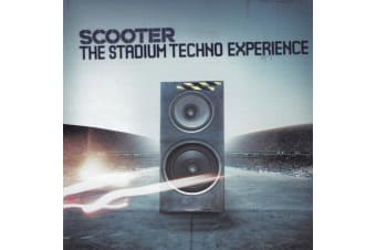 Scooter ‎– The Stadium Techno Experience BRAND NEW SEALED MUSIC ALBUM CD