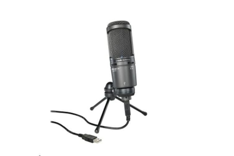 Audio-Technica AT AT2020USB+ LGE DIAPHRAGM COND MIC