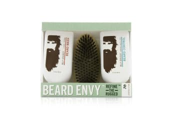 Billy Jealousy Beard Envy Kit: Beard Wash 88ml + Beard Control 88ml + brush 1pcs 3pcs