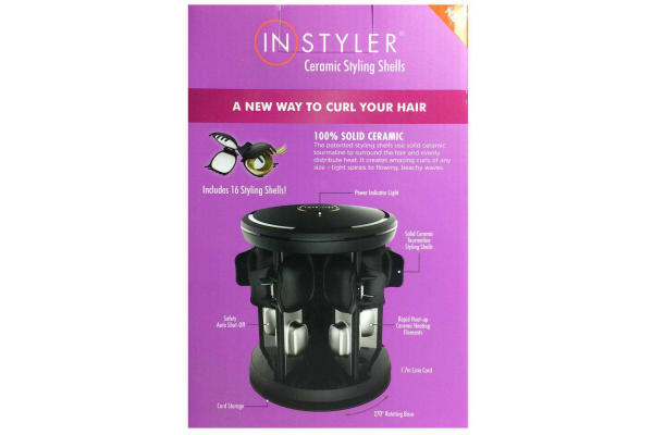 INSTYLER Heated Ceramic Hair Styling Shells