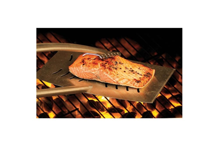 Grill Daddy Heat Shield BBQ Tongs Self Locking Stainless Steel Barbecue Tool