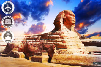 EGYPT: 12 Day Egypt Tour with Nile River Cruise Including Flights for Two