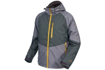 Trespass Mens Grimes Padded Waterproof Ski Jacket (Raisin) (L)