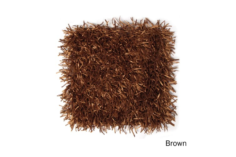 Linguine Cushion Cover Brown