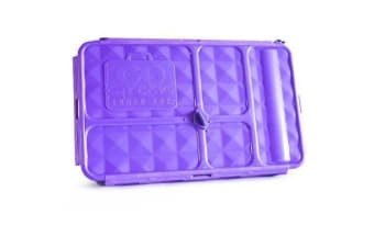 Go Green Original Lunch Box and Drink Bottle Purple