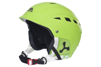 Trespass Furillo Adults Snow Sport Ski Helmet (Lime Green)