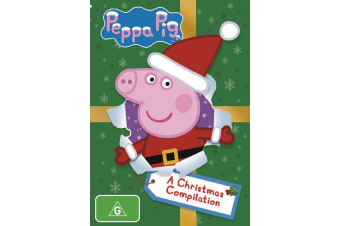 Peppa Pig A Christmas Compilation DVD Region 4