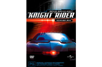 Knight Rider Season One - Series Rare- Aus Stock DVD PREOWNED: DISC LIKE NEW