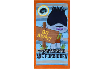 Trolls Childrens/Kids Trespassers Towel (Multicoloured) (One Size)