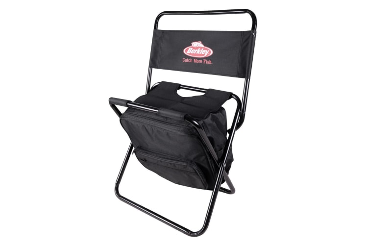 Berkley Folding Backpack Chair With Back Rest - Fishing Stool/Backpack