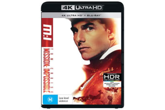 Mission Impossible 4K Ultra HD Blu-ray UHD Region B