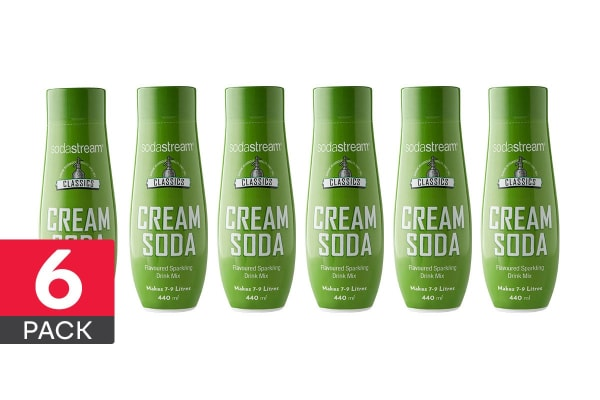 SodaStream Classic Cream Soda (6 Pack)