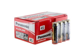 Panasonic 40 Pack Aa Alkaline Battery