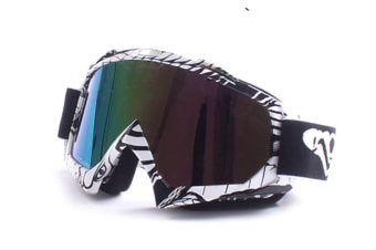 Ski Goggles Winter Outdoor Sports With Anti-Fog Double Lens Large Spherical For Skate Colorful