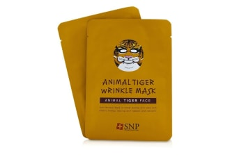 SNP Animal Tiger Wrinkle Mask 10x25ml/0.84oz