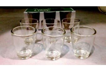 Set of 12 Shot Glass 30ml cups Drinking Entertaining Bar Parties