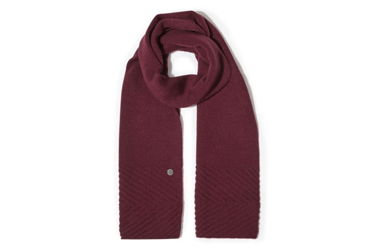 Craghoppers Unisex Adults Maria Knit Scarf (Wildberry) (One Size)