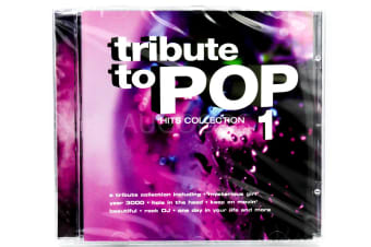 TRIBUTE TO POP VOLUME 1 HITS COLLECTION BRAND NEW SEALED MUSIC ALBUM CD