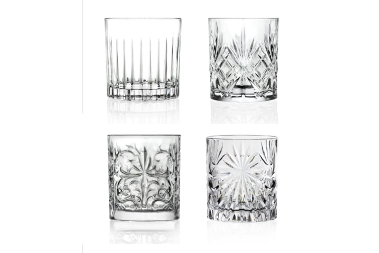 Rcr Mixology Crystal Tumblers Set 4