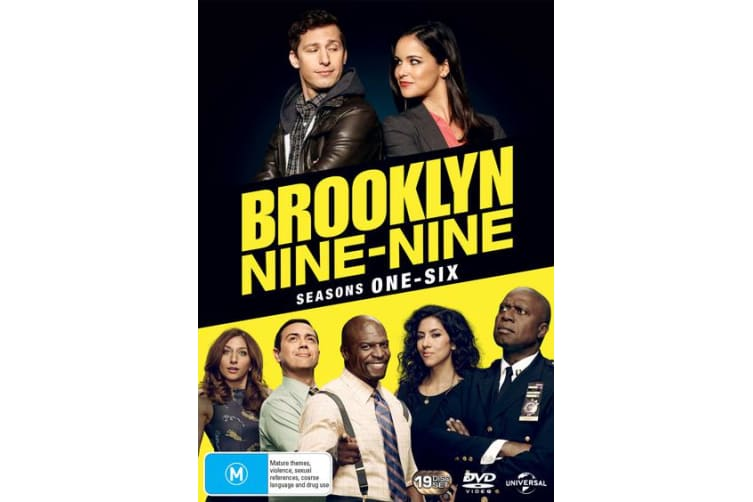 Brooklyn Nine Nine Seasons One Six Box Set DVD Region 4