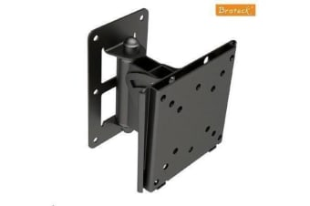 Brateck LCD-201S LCD Swivel Wall Mount Bracket Vesa 75/100mm up to 30 Kg