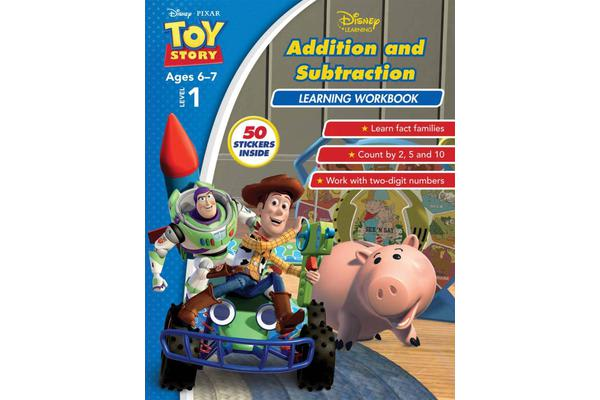 Image of Disney Toy Story - Addition and Subtraction Learning Workbook Level 1
