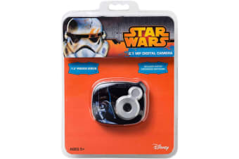 Star Wars Digital Camera 2.1MP Editing Software Kids/Children 100 Photos