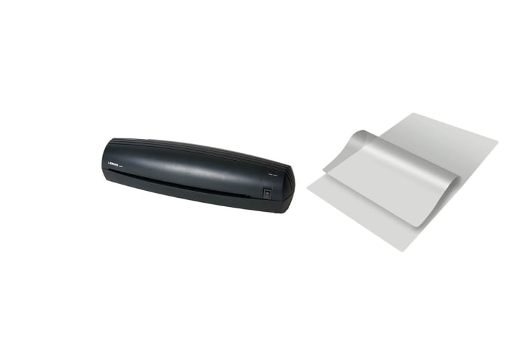 Lenoxx Hot A3 Laminator with Laminating Pouches