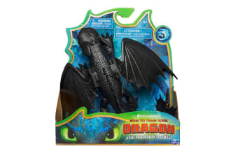 How To Train Your Dragon Hidden World Basic Dragon - Toothless
