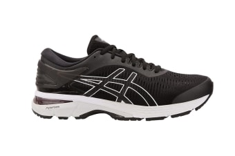 ASICS Men's Gel-Kayano 25 Running Shoe (Black/Glacier Grey, Size 8)