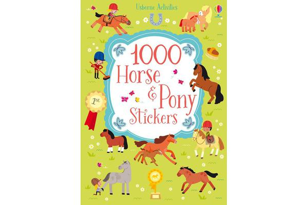 Image of 1000 Horse and Pony Stickers