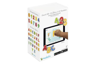Marbotic Smart Wooden Numbers/Letters 3y+ Kids Educational Toy for iPad/Tablets