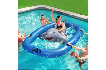 3.1m Raft Float Inflatable Pool Floating Raft Bull Riding Toy