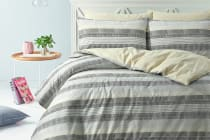 Style & Co 100 % Cotton Reversible Quilt Cover Set (Limped)