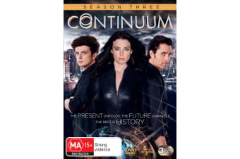 Continuum Season 3 DVD Region 4