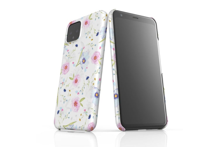 For Google Pixel 4 XL Snap Case Lightweight Protective Slim Unique Cover Floral