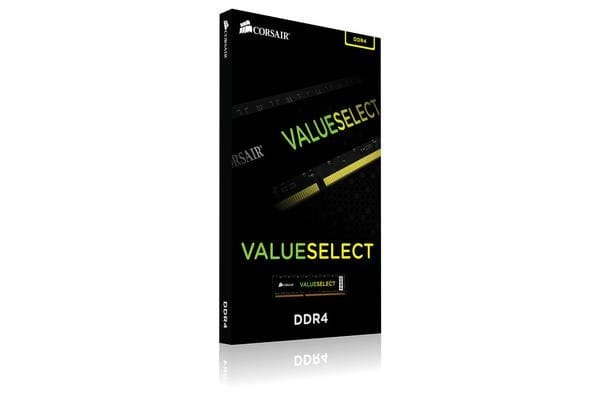 Corsair Value Select DDR4 Memory - 4GB - 2400MHz - 1.2v - 1x288 DIMM - Unbuffered - 16-16-16-40
