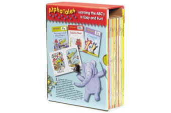 AlphaTales - A Set of 26 Irresistible Animal Storybooks That Build Phonemic Awareness & Teach Each Letter of the Alphabet