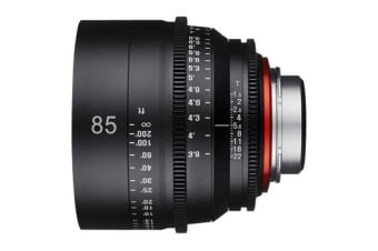 New Samyang Xeen 85mm T1.5 Lens for PL Mount (FREE DELIVERY + 1 YEAR AU WARRANTY)