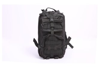 24L HIKING CAMPING MILITARY BACKPACK BLACK