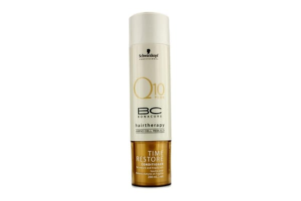 Schwarzkopf BC Time Restore Q10 Plus Conditioner (For Mature and Fragile Hair) (200ml/6.7oz)