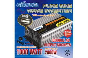Pure Sine Wave Inverter Thermal Overload Protection 1000W