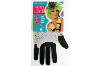 Silky Womens/Ladies Short Fishnet Gloves (1 Pair) (White) (One Size)