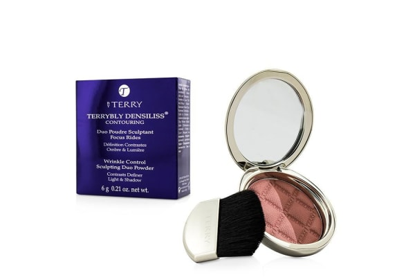 By Terry Terrybly Densiliss Blush Contouring Duo Powder - # 300 Peachy Sculpt 6g/0.21oz