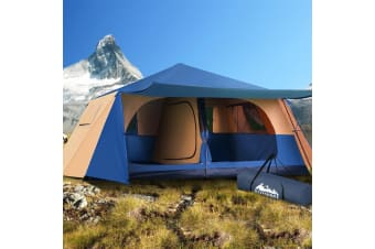 Instant Up Camping Tent 10 Person Pop up Tents Swag Family Hiking